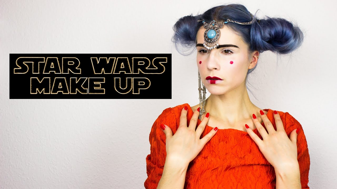 Star Wars Queen Amidala Makeup Tutorial Padme