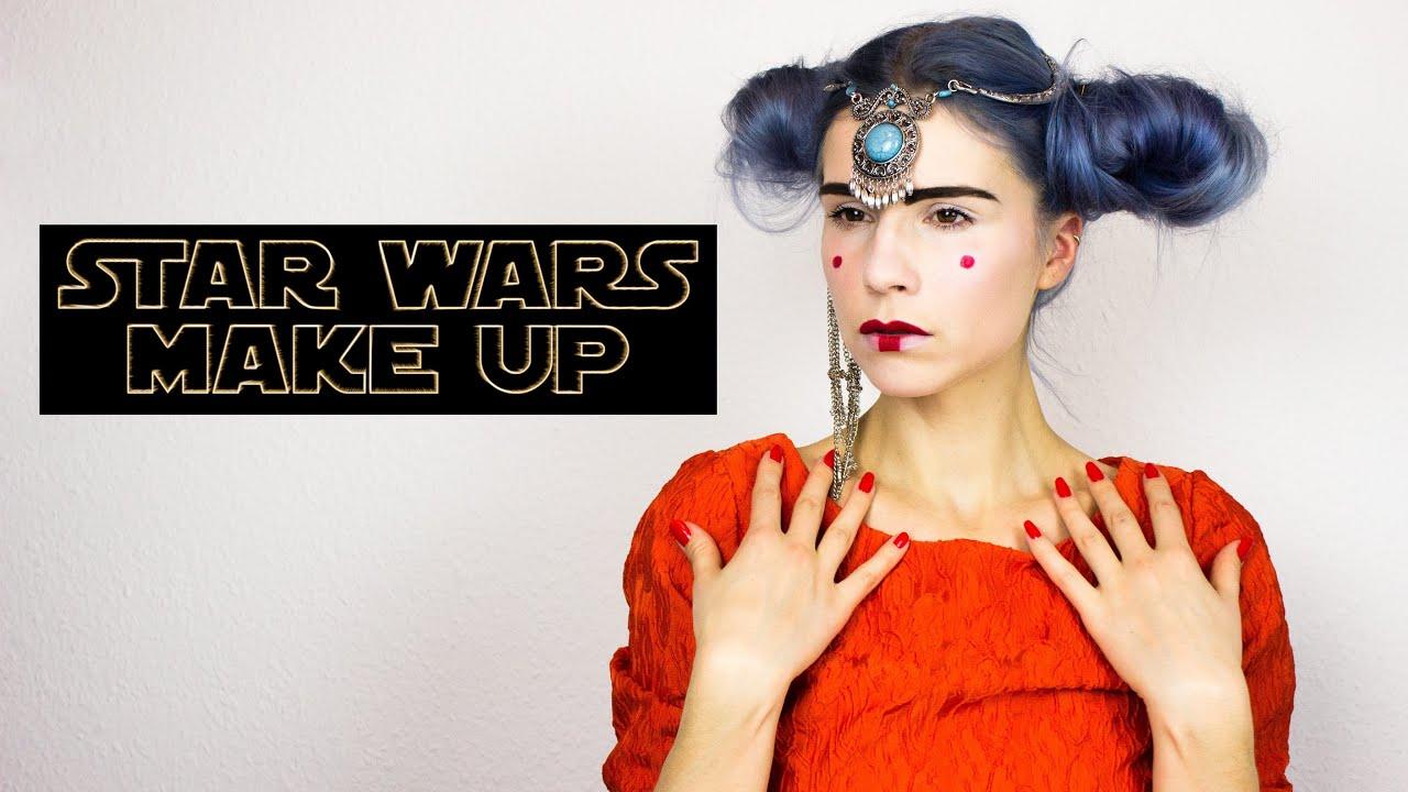 Star Wars Queen Amidala Makeup Tutorial Padme