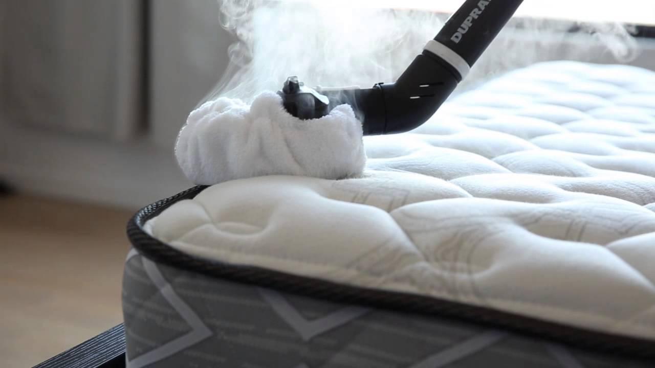 Cómo limpiar colchones con un limpiador de vapor - YouTube