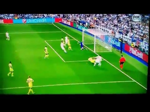Fernando own goal Real Madrid vs Manchester City 1-0 5/4/16