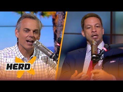 Chris Broussard on Durant not hiding beyond burner accounts, Pop's coaching style | NBA | THE HERD