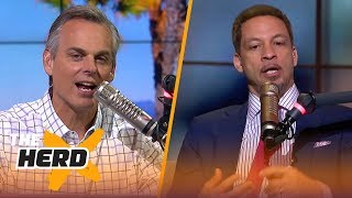 Chris Broussard on Durant not hiding beyond burner accounts, Pop's coaching style | NBA | THE HERD