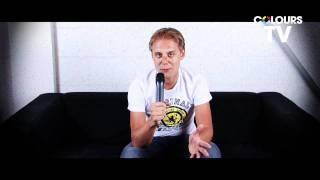 ARMIN VAN BUUREN - COLOURS TV - Question Time