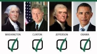 ¿Cual de estos presidents de los EEUU ha admitido fumar cannabis?