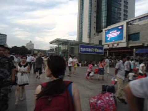 Madness of Nanchang Train Station   Jiangxi   China   July 2013