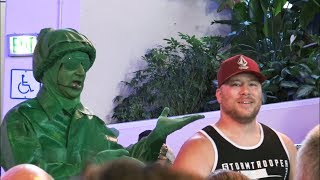 Toy Story Green Army Men Give Navy Man A Hard Time Before THE Music of Pixar LIVE! - FUNNY