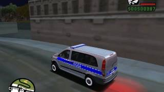 [GTA SA] Mercedes Benz Vito Policja [DOWNLOAD]