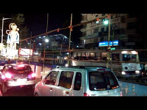 Know Kolkata Roads : Shyambazar to Salt Lake Stadium Yuba Bharati Krirangan at Night