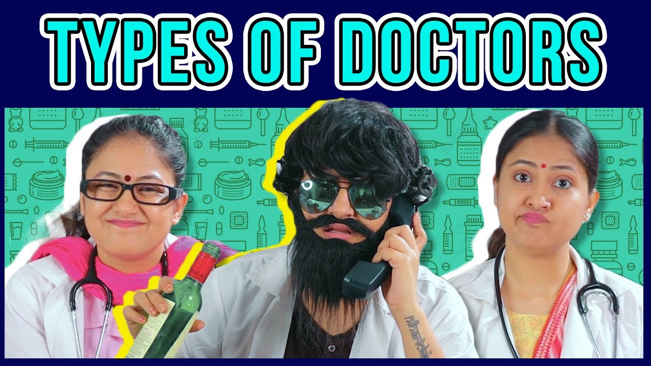 Types Of Doctors // Captain Nick