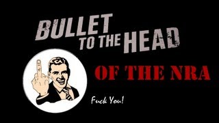 BULLET TO THE HEAD OF THE NRA GAME DOWNLOAD - violent game wants you to assassinate Wayne Lapierre