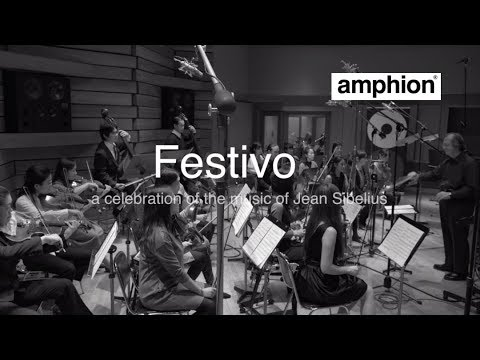 """FESTIVO""A celebration of the music of Jean Sibelius. Amphion Loudspeakers - Recording Session"