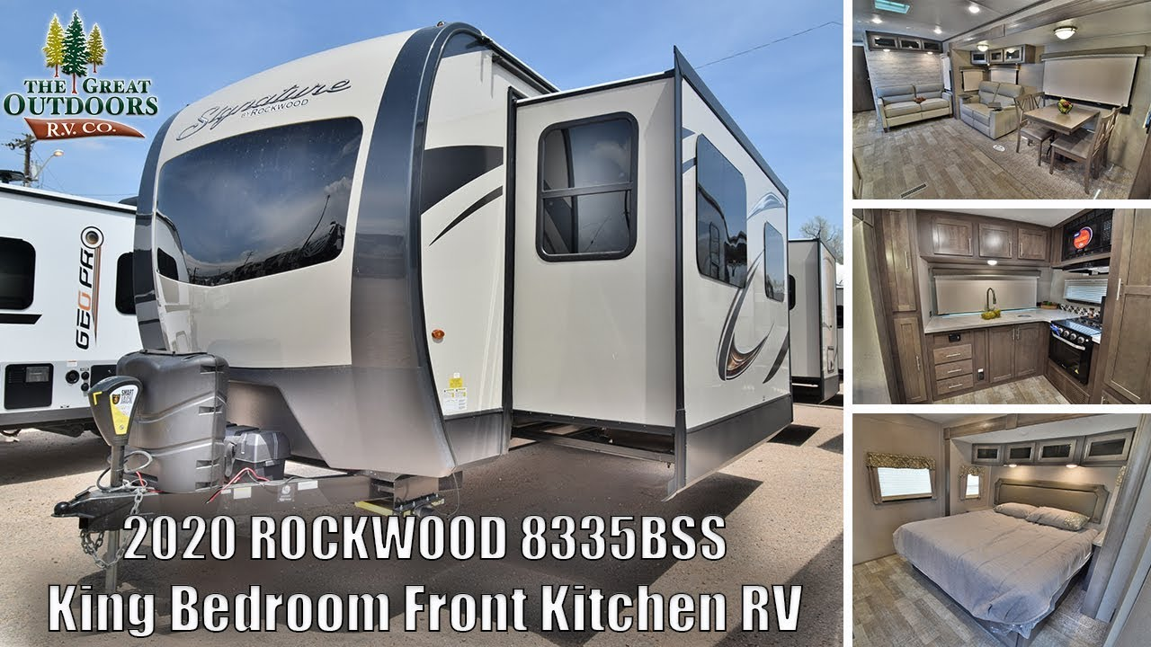 Best Travel Trailers 2020.Travel Trailers With King Bed Top 5 Best Luxury Travel