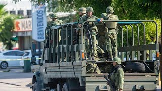 Gunfight rages in capital of Mexico's Sinaloa state
