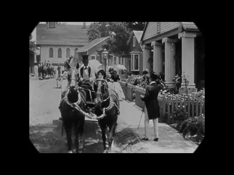 1860s Time Machine - South Carolina (speed-corrected extracts from 1915's Birth of a Nation)