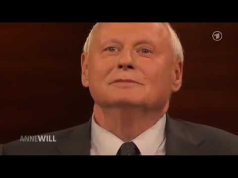 Das Erste 2017 | Dirk Müller und Oskar Lafontaine bei Anne Will | Talkshow