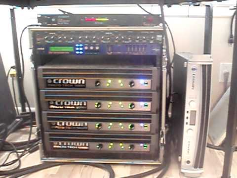 Macrotech I Rack For 3 Way System Youtube