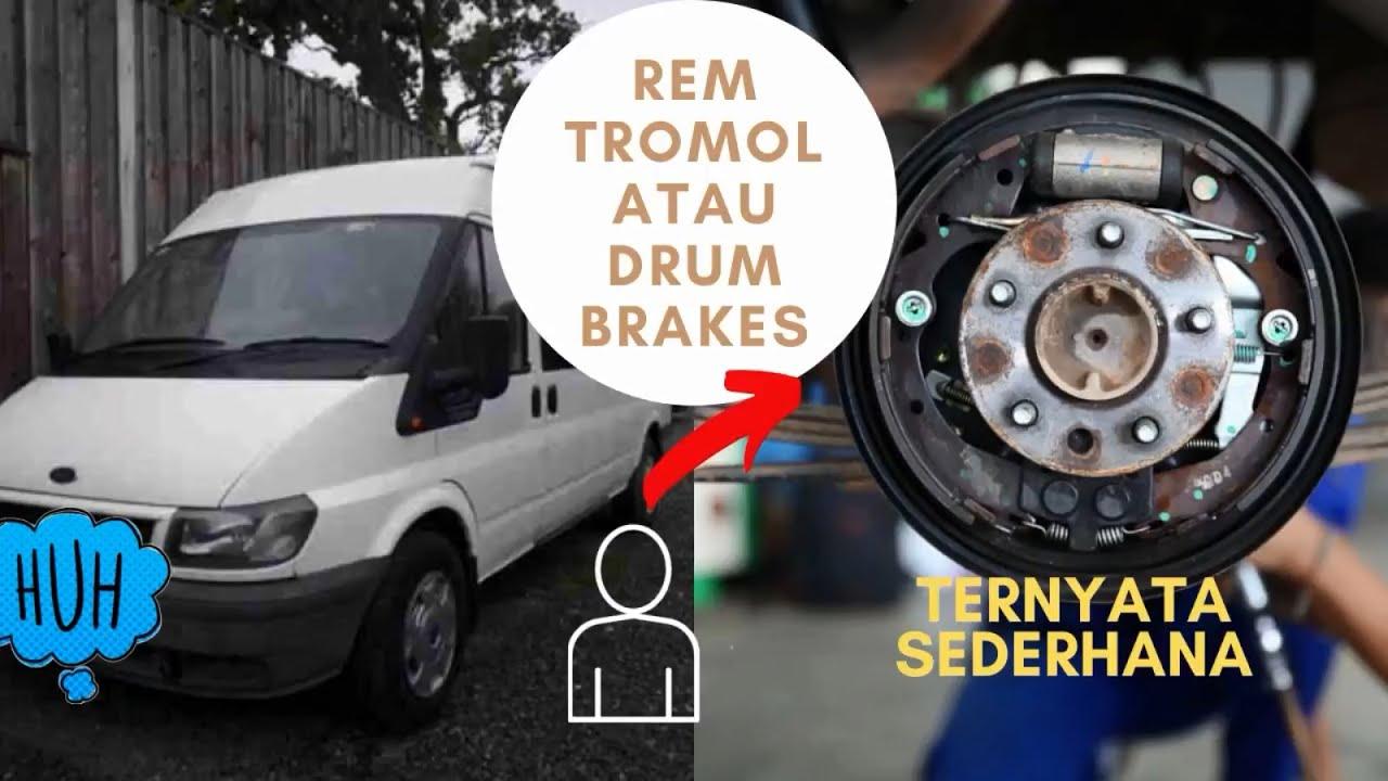 Cara Kerja Rem Tromol atau Drum Brakes - YouTube