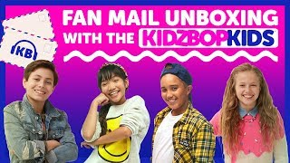 Fan Mail Unboxing with The KIDZ BOP Kids