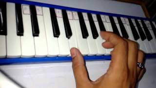 jadu-teri-nazar-melodica-piano-notes-darr-movie-song-lesson