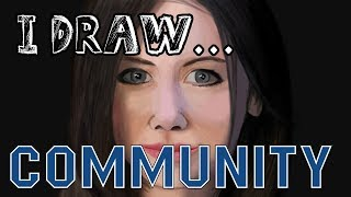 I Draw... Alison Brie! (Community)