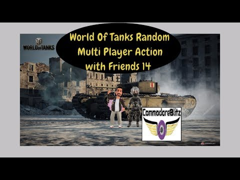 World Of Tanks Random Multi Player Action with Friends 14