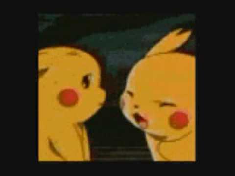 Evil Pikachu And Ash EVIL PIKACHU SLAPS ASH...