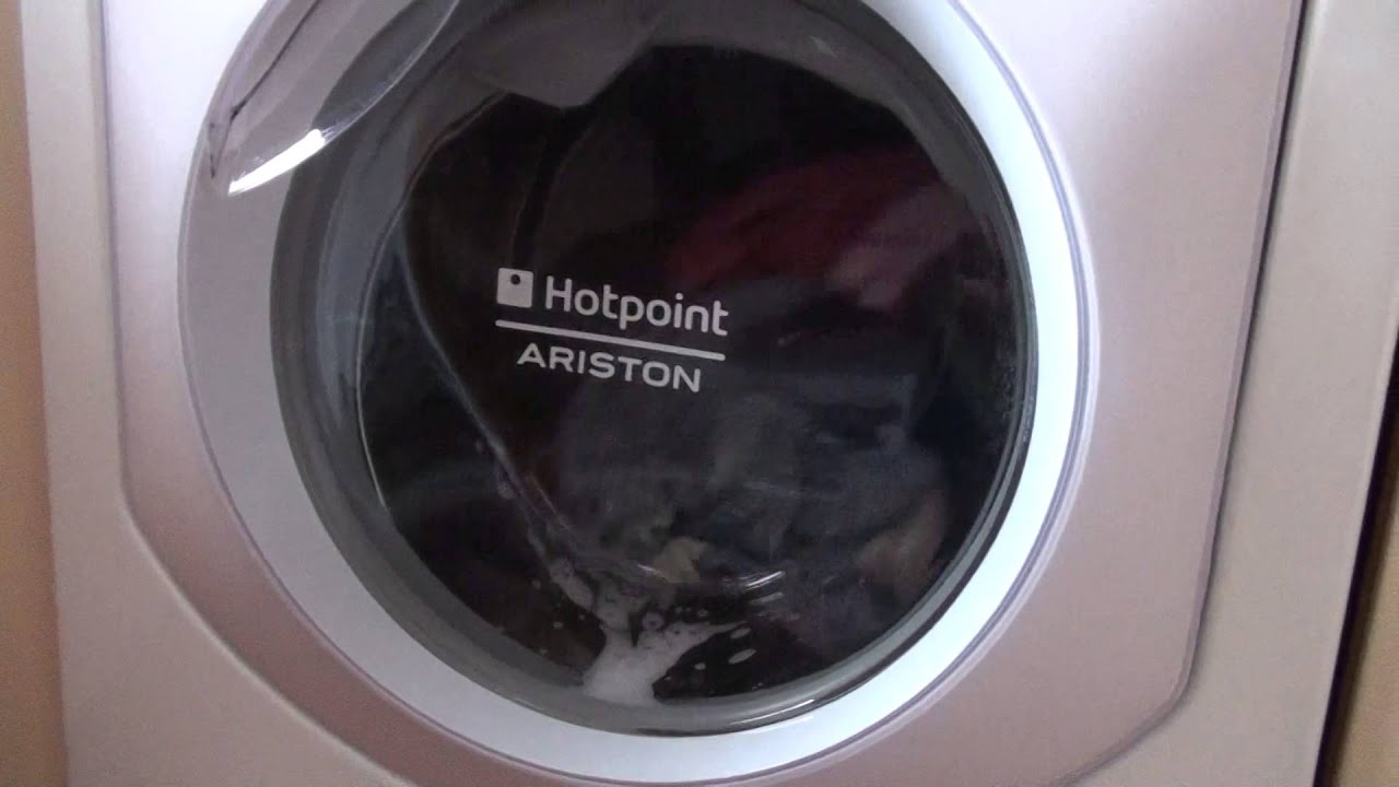 hotpoint ariston washing machine how quiet can be super. Black Bedroom Furniture Sets. Home Design Ideas