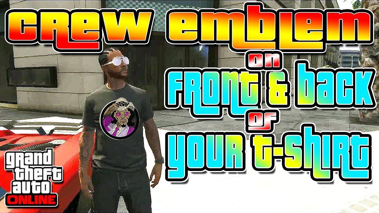 how to change crew on gta 5
