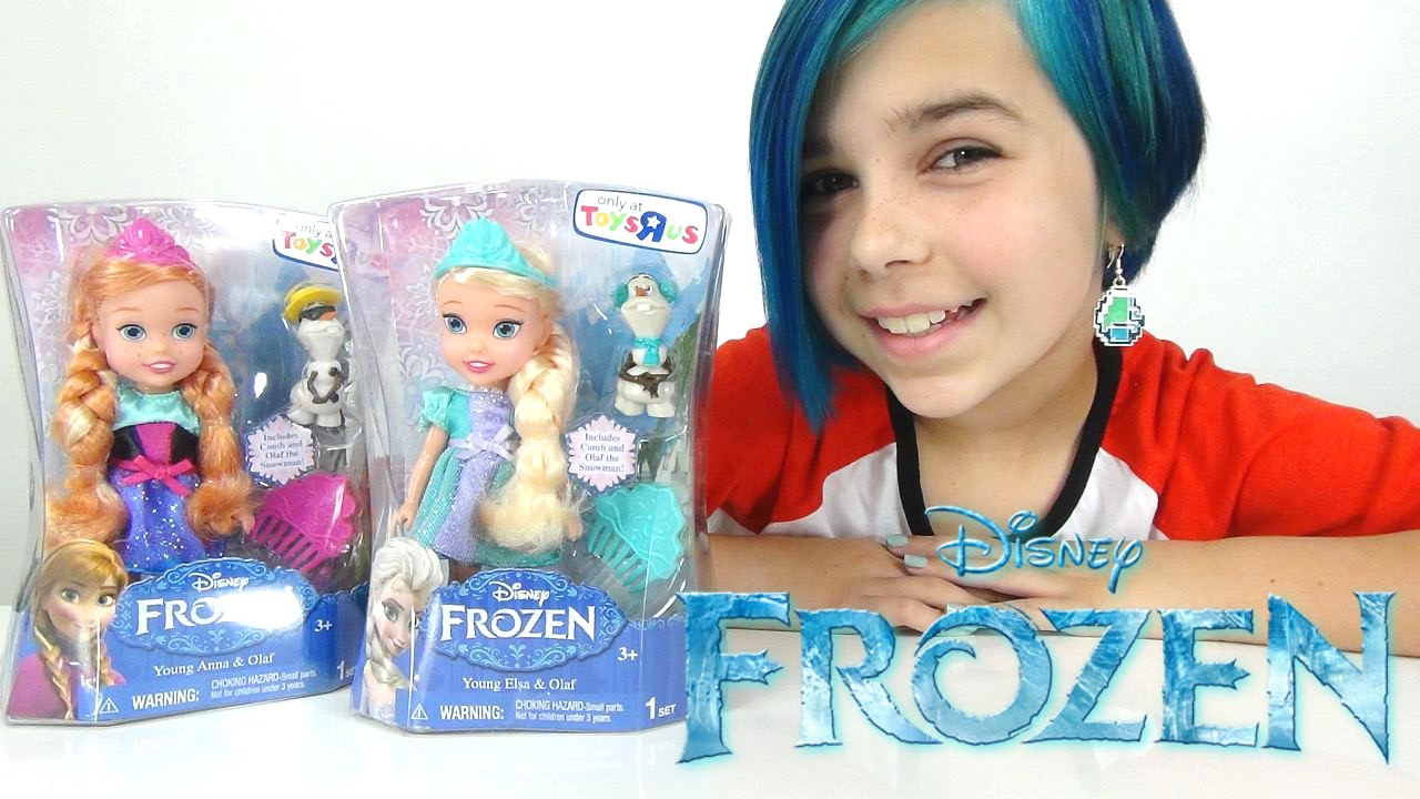 Frozen Toys R Us : Disney frozen young elsa and anna with olaf toys r us