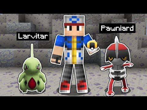 Minecraft Pokémon #4: CAPTUREI NOVOS POKÉMON PARA BATALHAR NO GINÁSIO!
