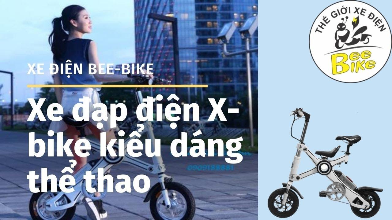 Xe đạp điện X bike kiểu dáng thể thao,giá tốt tại Bee bike