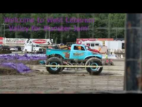 2019 July Monster Jam Lebanon Valley Speedway Tuesday  Montage