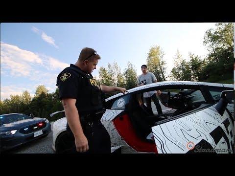 POLICE Illegal Search And Seizure Lamborghini