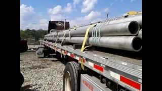 Flatbed Trucking 101 Securing pipe thumbnail