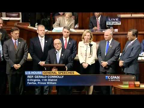 Connolly Leads Virginia Delegation in Recognizing the Passing of Former Rep Herb Harris