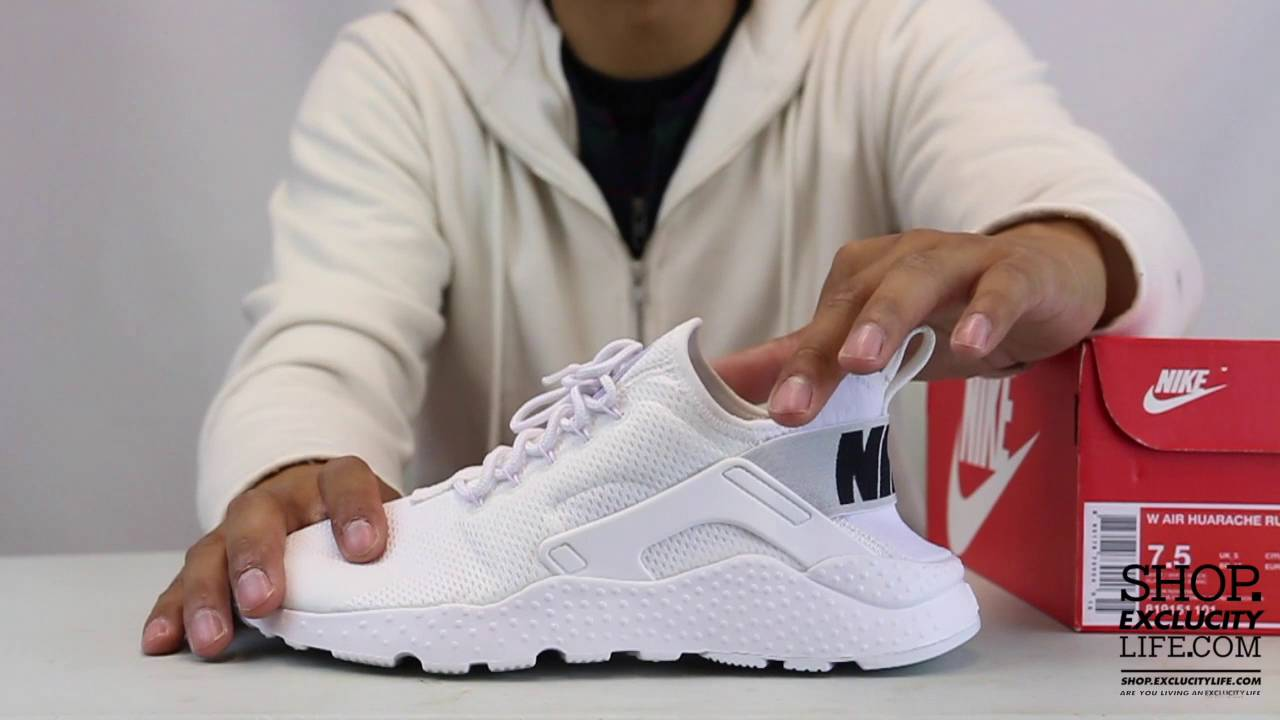 c7bbd5b0f6be6 Women s Huarache Ultra White Black Unboxing Video at Exclucity - YouTube