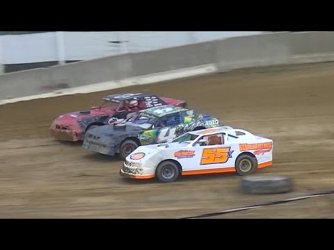 Pure Stock Feature | Old Bradford Speedway | Danny Eschrich Memorial | 8-28-16