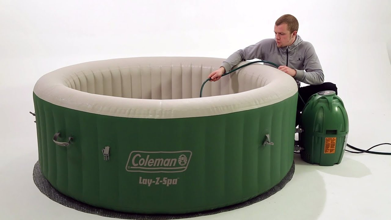 Spa Gonflable Bestway Coleman Lay Z Spa Layz Spa Installation