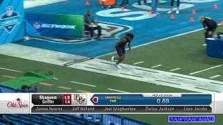 Shaquem Griffin   2018 NFL Combine SPEED 40 Yard Dash   NFL Highlights HD