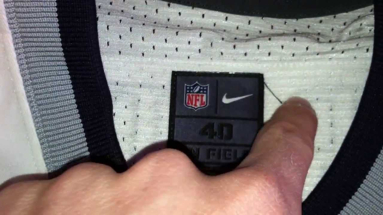 3894feb7c Official Nike Elite NFL Jersey - New England Patriots - YouTube