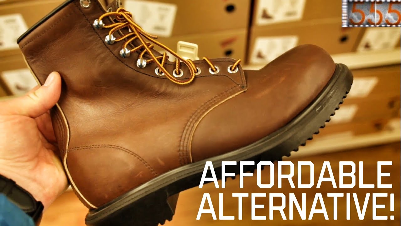 4a74230bec1 Red Wing Work Boots: Affordable Quality Alternative to Their Heritage Line