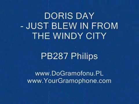 Philips PB287 DORIS DAY - JUST BLEW IN FROM THE WINDY CITY - DoGramofonu.PL