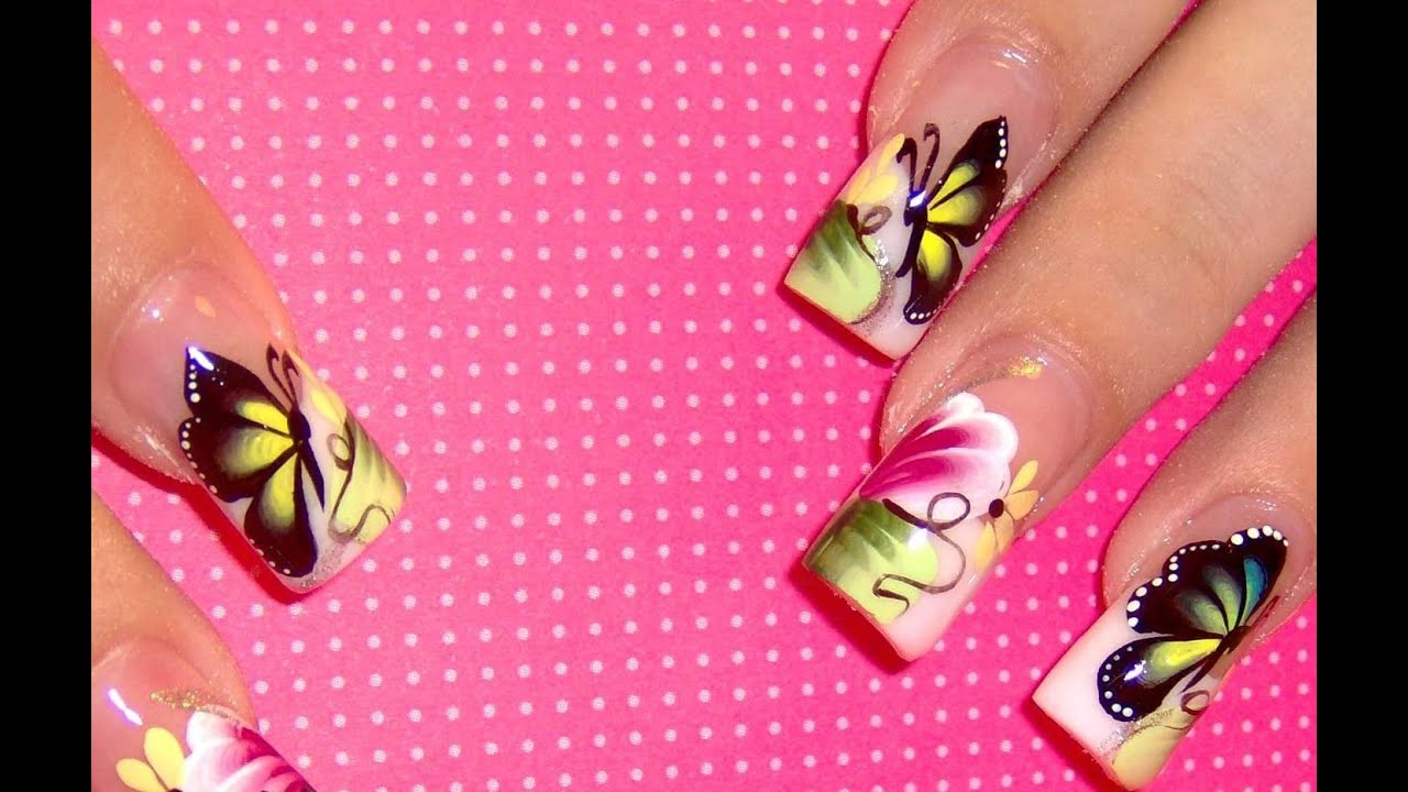 Gel Nail Design Ideas gel nail designs 16 Amazing 100 Gel Acrylic Nail Designs Ideas Youtube