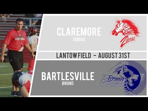 Football: Claremore vs Bartlesville