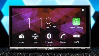 Sony XAV-AX5000 - Apple Carplay and Android Auto