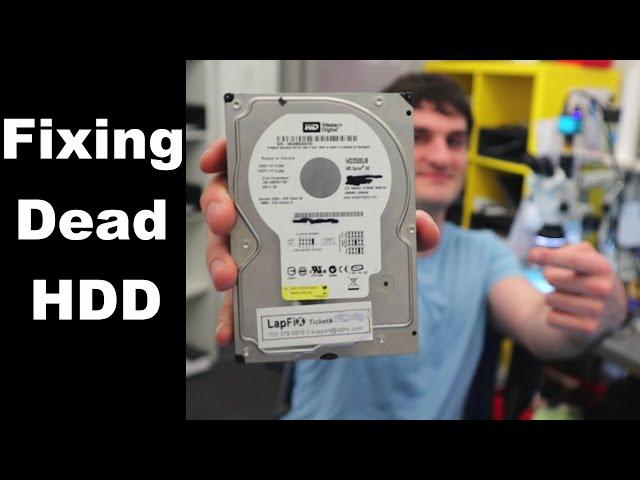 How to Fix a Dead Western Digital Hard Drive - HDD Repair