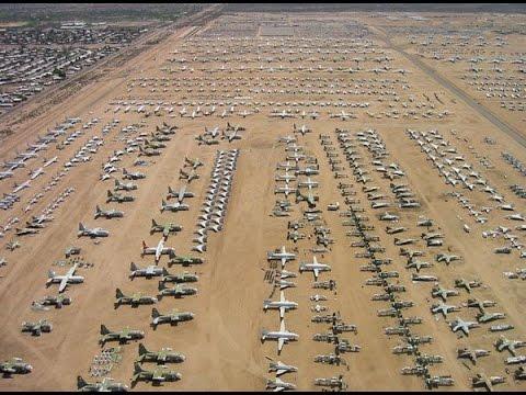 挑戰新聞軍事精華版--美國的飛機墳場 - YouTube