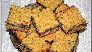 Тертый пирог с джемом