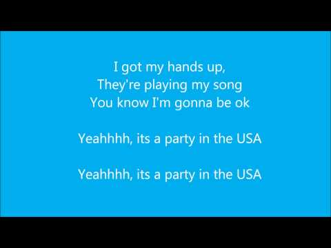 Miley Cyrus-Party in the U.S.A.