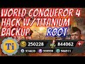 World Conqueror 4 1.2.0 Medal, Gold, & Resources Hack w/Titanium Backup 2017 | ROOT